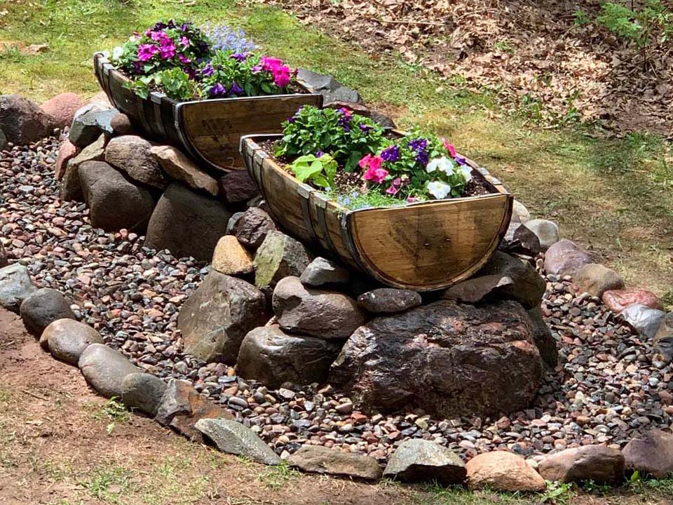 Landscaping Septic Tank Cover