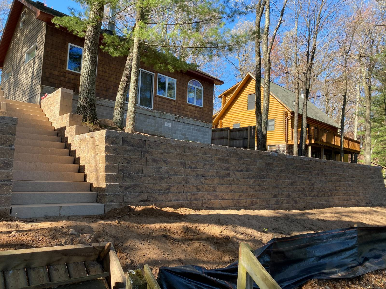 Retaining Wall Landscaping Services